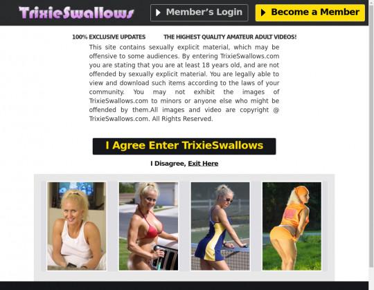 Trixie swallows passwords