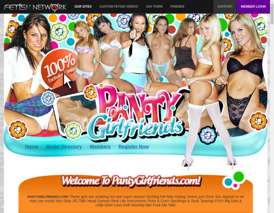 Pantygirlfriends.com passwords