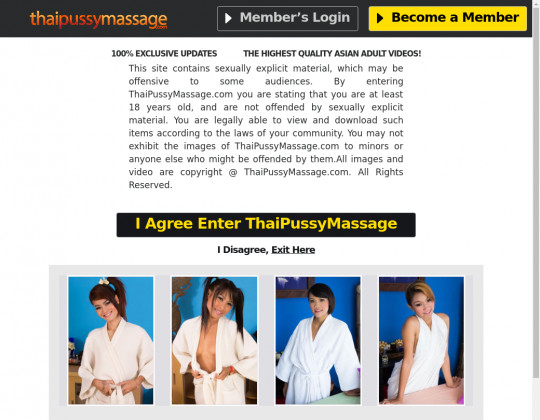 Thai pussy massage passwords