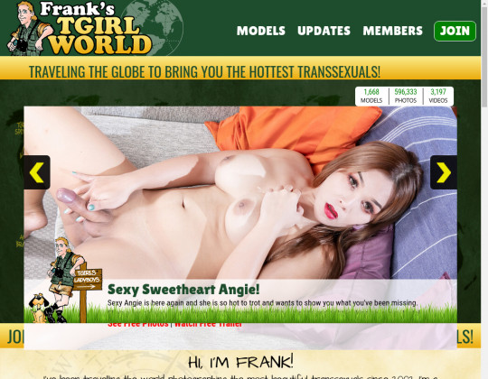Free premium Franks t-girl world