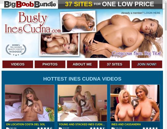 bustyinescudna.com - busty ines cudna