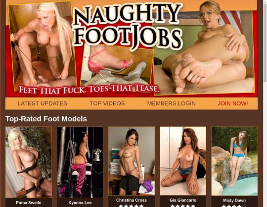 naughtyfootjobs.com - naughty footjobs
