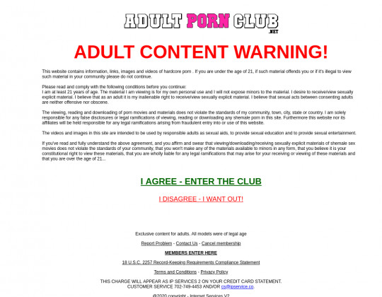 Adult porn club passwords February 2020