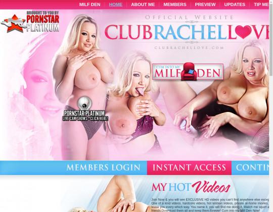 Club rachel love premium access