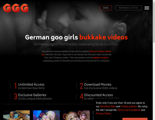 Login premium German goo girls