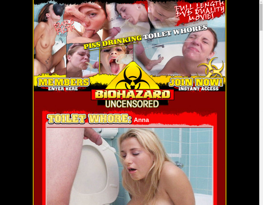 biohazarduncensored.com - biohazard uncensored