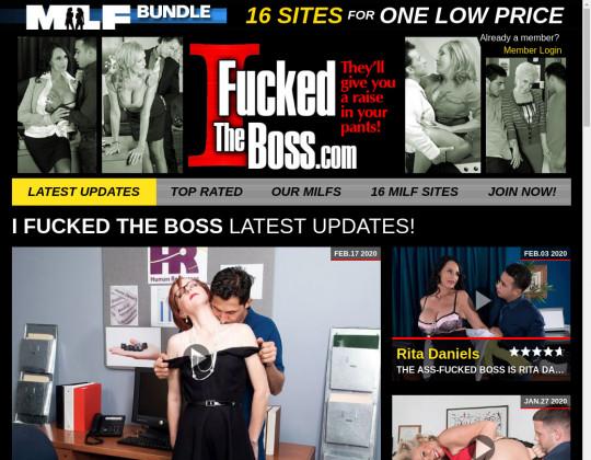 ifuckedtheboss.com - i fucked the boss