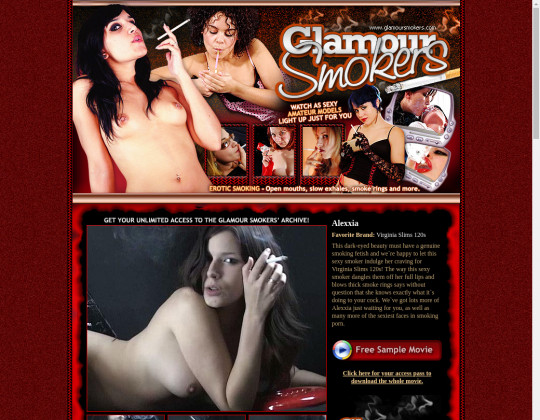 Glamour smokers premium March 2020