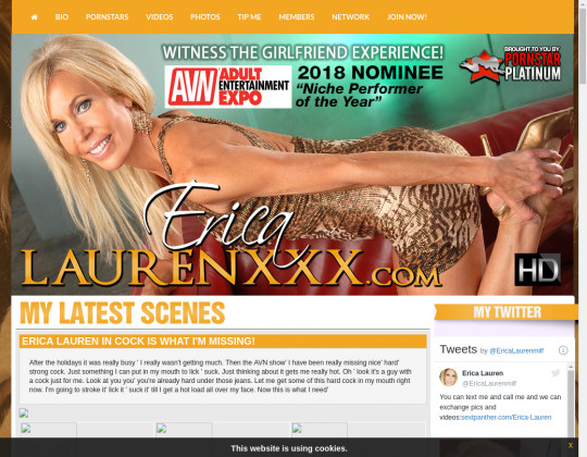 Best premium Erica lauren xxx