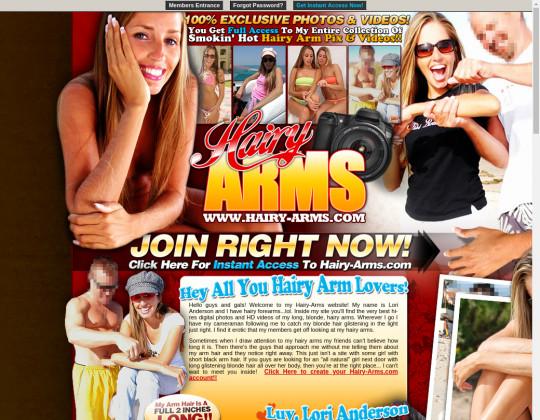 Hairy-arms.com premium members