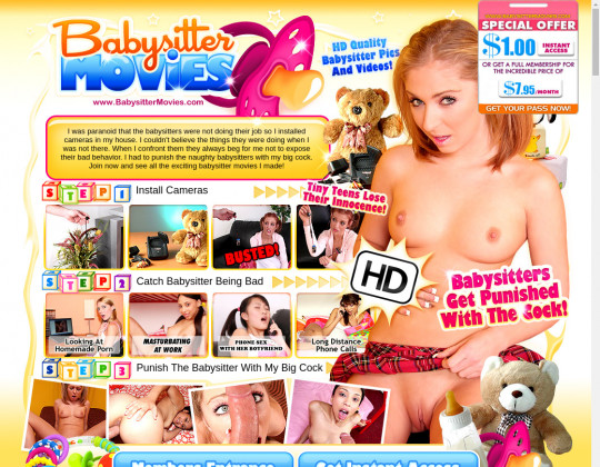 Babysitter movies passwords March 2020