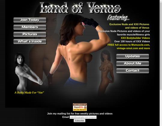 landofvenus.com - land of venus