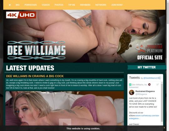 Dee williams official site premium April 2020