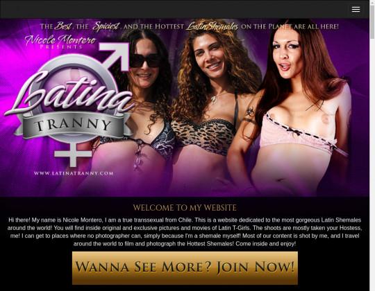 Latina tranny premium members