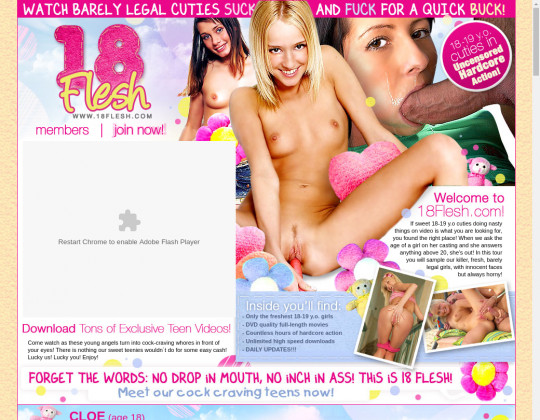 Free premium 18 flesh