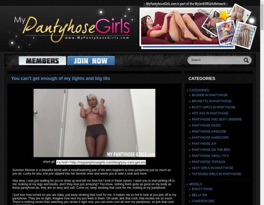 My pantyhose girls premium passwords