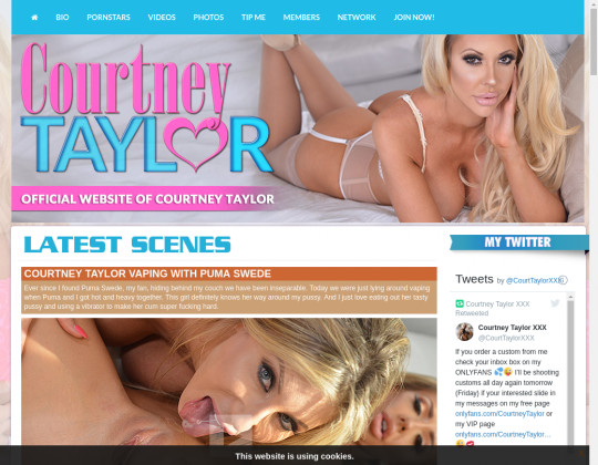 Courtney taylor premium members