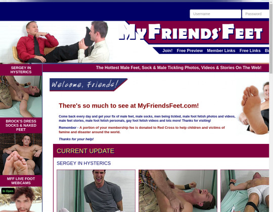 Myfriendsfeet.com passwords
