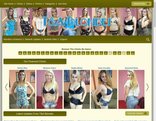 tandablondes.com - tanda blondes