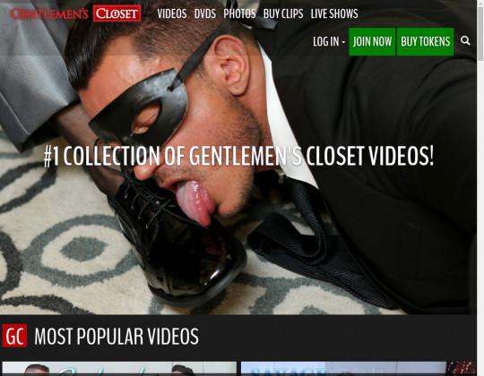 Free premium Gentlemens closet