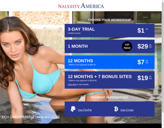 Naughty america passwords