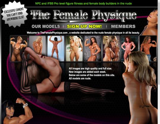 The female physique passwords