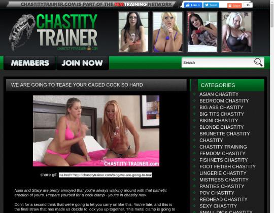 chastitytrainer.com - chastity trainer