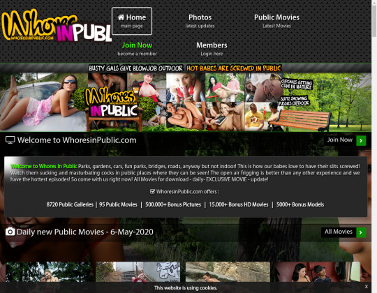 Whoresinpublic.com full premium May 2020
