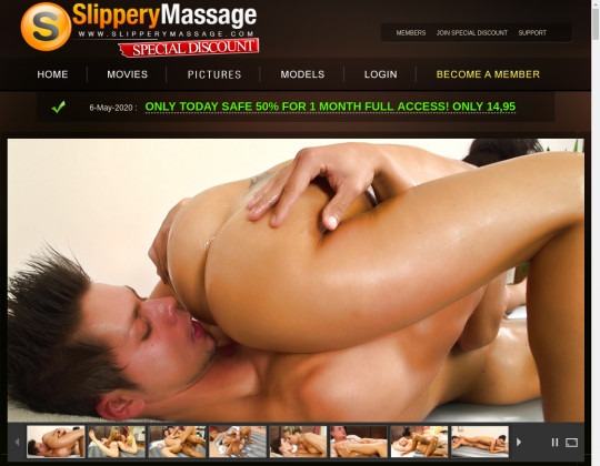 Slipperymassage.com – special discount premium members