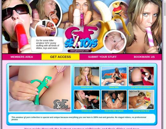 Dump premium Gf sex toys