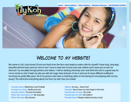lilykoh.com - lily koh