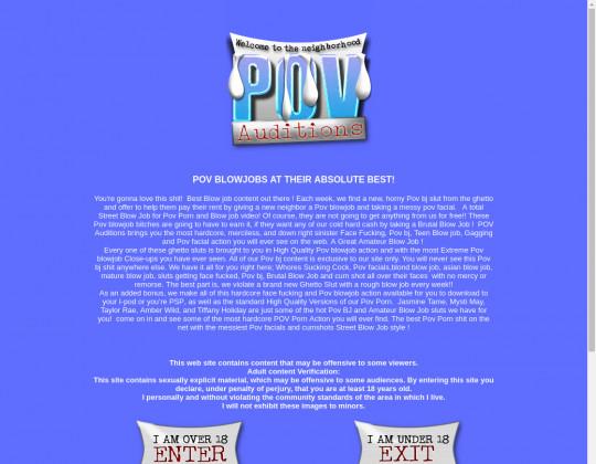 pov-auditions.com - pov-auditions