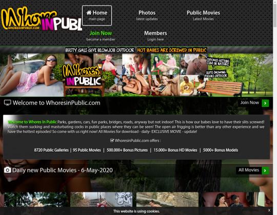 whoresinpublic.com - whores in public