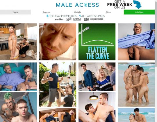 Male access premium access