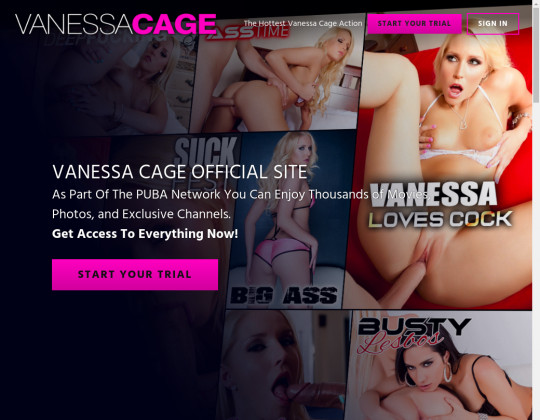 Vanessa cage premium accounts