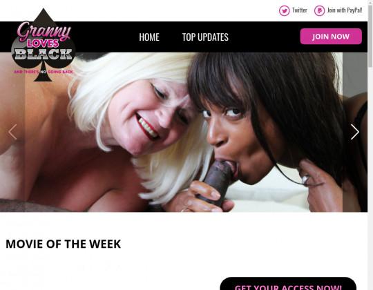 grannylovesblack.com - granny loves black