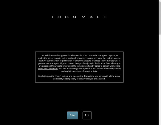 Icon male premium access