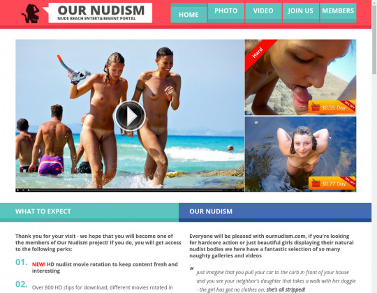 Ournudism passwords