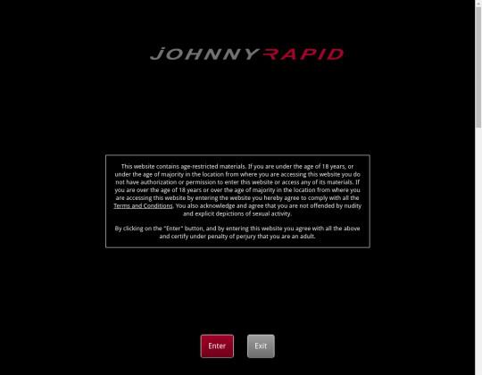 New premium Johnny rapid