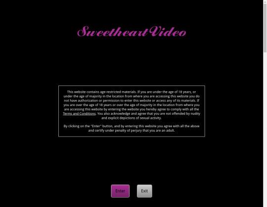 Sweet heart video premium members