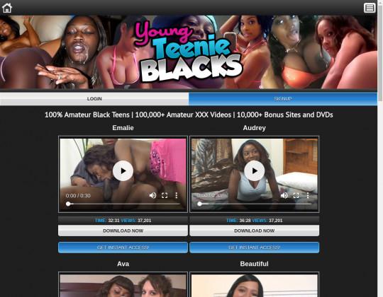 Young teenie blacks passwords
